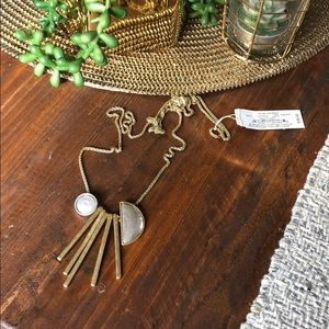 NWT Lucky Brand Adjustable length necklace